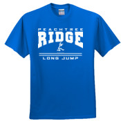Long Jump - 3931 Fruit of the Loom Adult 5oz. 100% Heavy Cotton HD T-Shirt