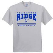 Pole Vault - 3931 Fruit of the Loom Adult 5oz. 100% Heavy Cotton HD T-Shirt