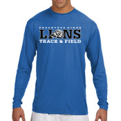 LIONS - N3165 A4 Long-Sleeve Cooling Performance Crew Neck T-Shirt